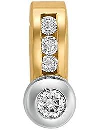 CHRIST Diamonds Damen-Anhänger 585er Gelbgold Diamant Diamant zus. ca. 0,35 ct. One Size, gold