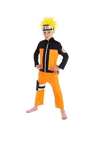 Chaks Déguisement Naruto Enfant 7 à 8 Ans (128 cm)