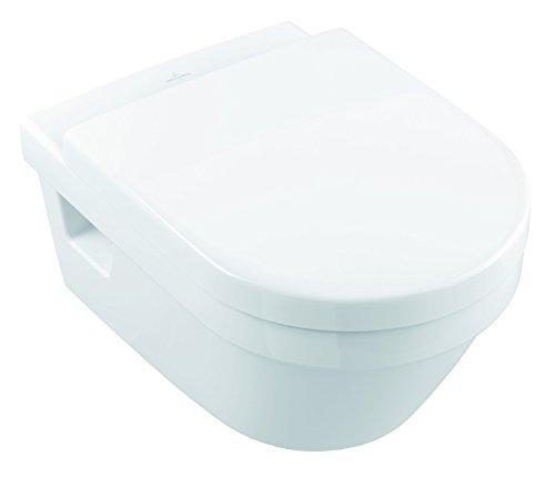 Villeroy & Boch, Pagette Wand-WC Komplett-Set Architectura spülrandlos, 1 stück, weiß, 4035300916726