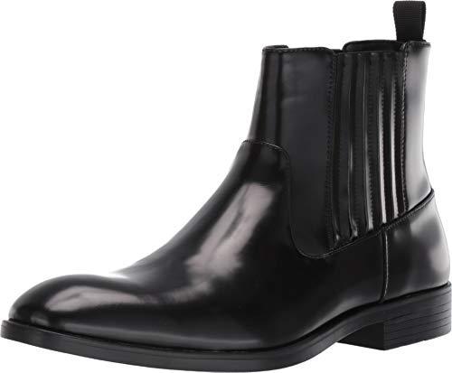 Calvin Klein Herren Cliff Chelsea, Stiefel, schwarz, 45.5 EU