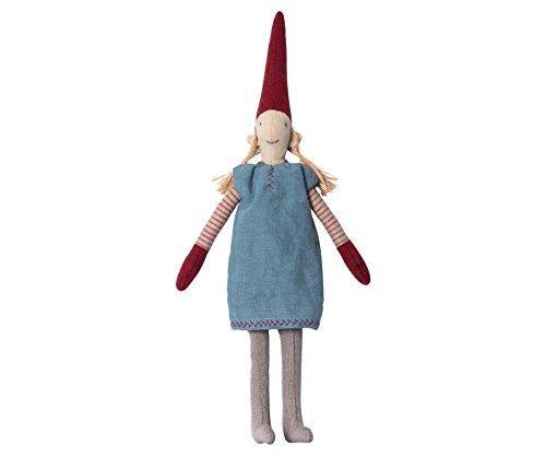 (Maileg-Danish lisvs Pixy 2016-Mini-Mädchen in Blau Kleid-'Elf auf einem Regal'-30cms)