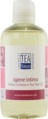 TEA NATURA Detergente Intimo Malva Lichene &Tea Tree - Deterge con delicatezza le parti intime - Antisettico - Antibatterico - Antimicotico - Igienizzante - 250 ml