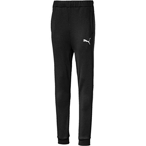 PUMA Jungen Active Sports Poly Pants cl B Jogginghose, Black, 104