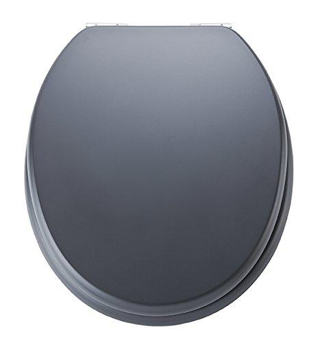 Eisl WC Sitz Spirit, Holzkern, mit Absenkautomatik, Anthrazit, ED09520SC