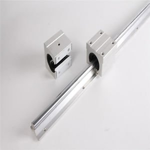 Tradico® TradicoBrand New 1 Set SBR16 16mm 650mm Fully Supported Linear Rail with SBR16UU Block Bearing