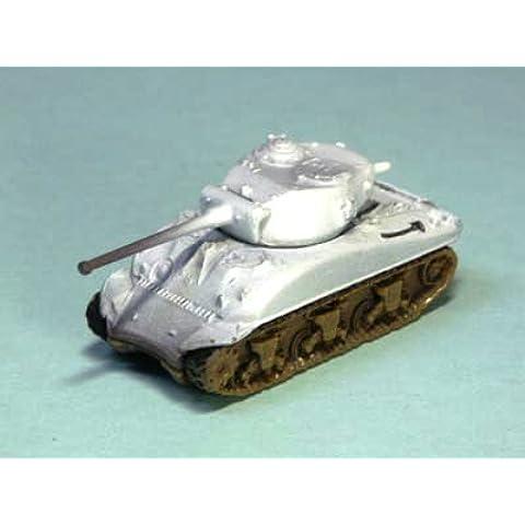 1/144 del tanque Serie Mundial Museo 01-4 M4A1 / 76 Sherman tanque medio (76 mm arma montada) camuflaje de invierno solo articulo