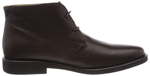 Steptronics Herren Alfa Chukka Boots Braun, Leder