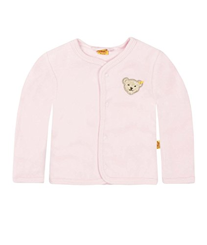 Steiff Unisex - Baby Classics Nicky Jacke 0002887, Gr. 62, Rosa (barely pink 2560)