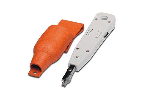 DIGITUS LSA Auflegewerkzeug - Universal Einsetzbar - Schere für Kabelader-Enden - Ausziehhaken - Entriegelungsklinge