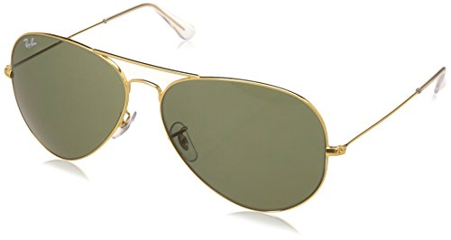 Ray-Ban None Aviator Unisex Sunglasses - (RB3026 W2027 62 14|62|Natural Green Color)