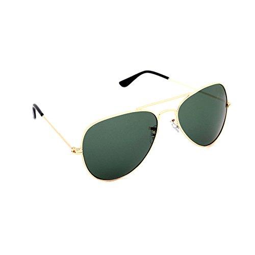Elligator Aviator Sunglasses (ESGAV_gold-green)
