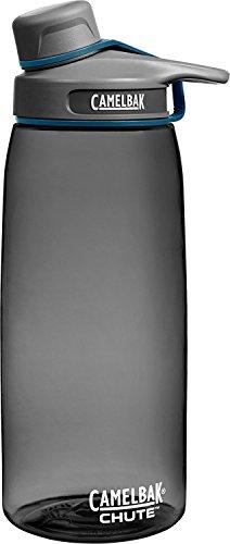 Camelbak Trinksystem Chute 1 Liter Trinkflasche, Charcoal, 1 L -