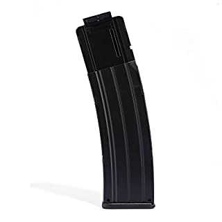 TXXCI WORKER Soft Bullet Clip Pistole Clip Reload Clip Magazine für 22 Darts Für Nerf N-Strike Elite Serie Spielzeuggewehre - Schwarz