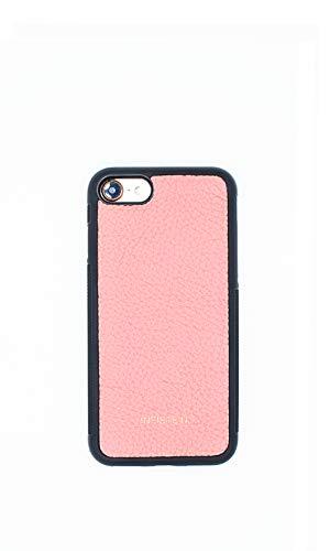 Infistein Teenagerherz Hülle für iPhone 8 Hülle Anti-Rutsch Schutzhülle Business Leder Hülle Kalbsleder Hochwertig Geschenk (iPhone 8/ iPhone 7, pink)