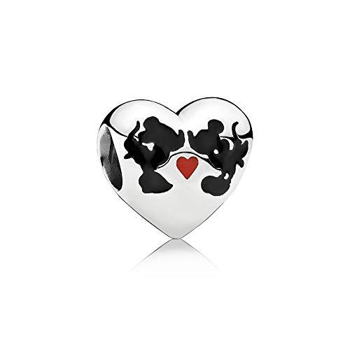 Pandora Damen-Bead Charms 925 Sterlingsilber 791443ENMX - Pandora Silber Charms Disney