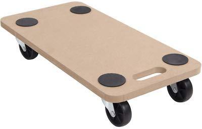 Generic * y Fu Cart Moving Furni Carrito de Madera Mano Dolly Mano muñeca Muebles Ley Carro Movimiento,Barrow Plataforma Mover Mover Barrow