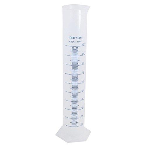Messzylinder - TOOGOO(R)41 cm hoch 1000ml Abgestufter Meter Plastik - Abgestufter 1000 Zylinder
