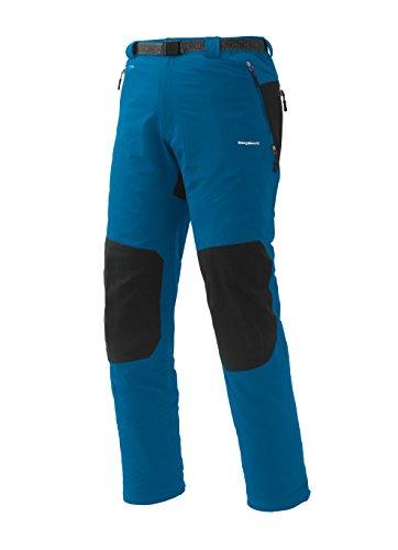 Trango uomo Badet FI Pantaloni lunghi, colore: rosso/nero, 2X-Large Blu - blu/nero