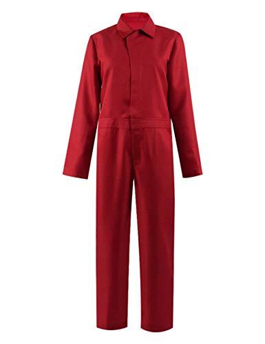Zhangjianwangluokeji Us Adelaide Kostüm roter Overall für Frauen Halloween Kostüm Cosplay (Kinder 3T, Rot) (Für Frauen Jason Kostüm)