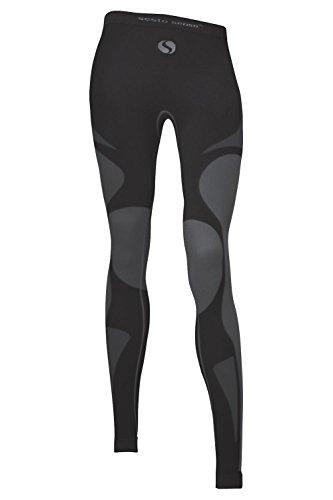 Sesto Senso Damen Funktionsunterwäsche lange Unterhose Thermoaktiv Grigio