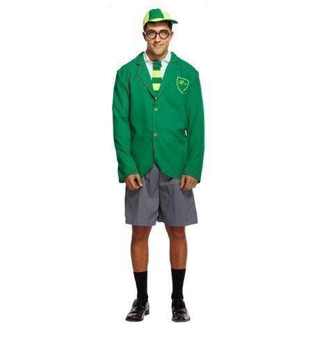 Imagen de disfraz de hombre  geek, nerd, superior del