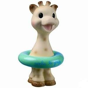 Sophie The Giraffe Bath Water Toy in Blue Squirter toy Vulli
