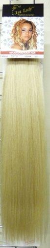 1St Lady Silky recto Natural Extensiones de cabello humano trama Europea con...