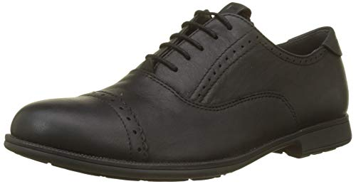 Camper 1913, Zapatos de cordones Oxford para Mujer, Negro (Black 001), 38 EU