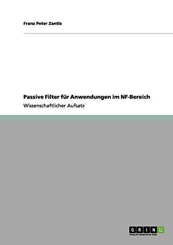 Passive Filter für Anwendungen im NF-Bereich