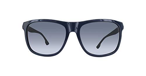 Diesel Herren DL0187-90V-57 Sonnenbrille, Schwarz, 59