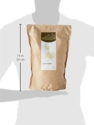 Sevenhills Wholefoods Raw Chia Seeds - PARENT