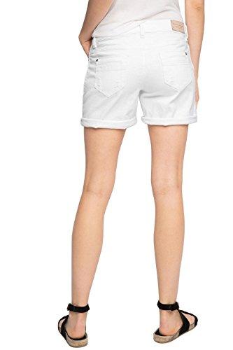 ESPRIT Damen Short Weiß (White 100)