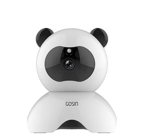 [IP Camera] Gosin® HD Series 720P WiFi Wireless IP Security Surveillance Kamera System Home Security Cam,Baby Monitor, CCTV Monitor,P2P Network Camera,Video Monitoring for IOS/Android/PC with Infrared Night Vision & Two-way Audio (720P) by (Frame Support System)