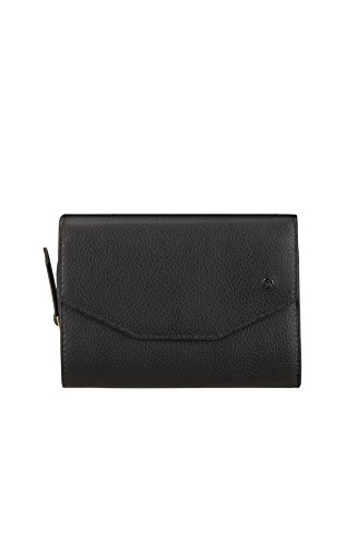 SAMSONITE Satiny SLG - Wallet for 12 Credit Cards + Zip Extension Medium Kreditkartenhülle, 0 Liter, Black - Kollektion Zip Tote