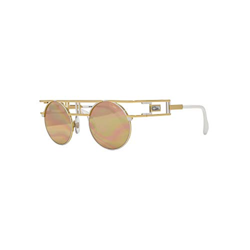 72c9274866 Cazal 958 Sunglasses in Gold Mirror 958 332 46 46 Gold Mirror Gold