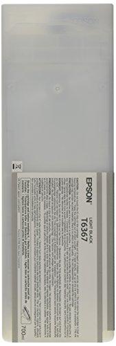 Epson T6367 C13T636700 - Cartouche d'encre d'origine - Gris (Light Black) pour Stylus Pro - 700ml