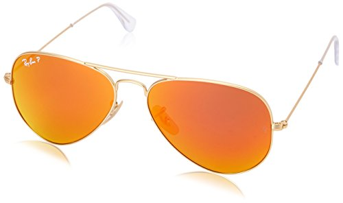 Ray-Ban 0rb3025 RB3025 Aviator Sonnenbrille, Gold (112/4D 112/4D)
