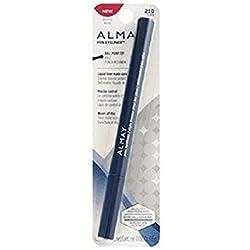Almay Pen Eyeliner Eye Liner Ball Point Tip, 210 Navy (Pack of 2)
