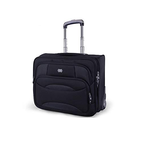 Tragbare Trolley-Tasche Tragbare Business Travel Trolley Laptop-Tasche Auf Rädern Einsteigen In Die Chassis Executive-Tasche Mobiles Büro Handgepäck Mit Hoher Kapazität Koffer Roller Laptop-Tasche 18 -