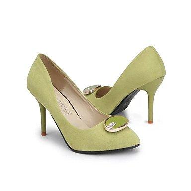 Ch & Tou Femmes-décontracté-talons-confortable-stiletto-pu (polyuréthane) -noir / Vert / Rouge Noir