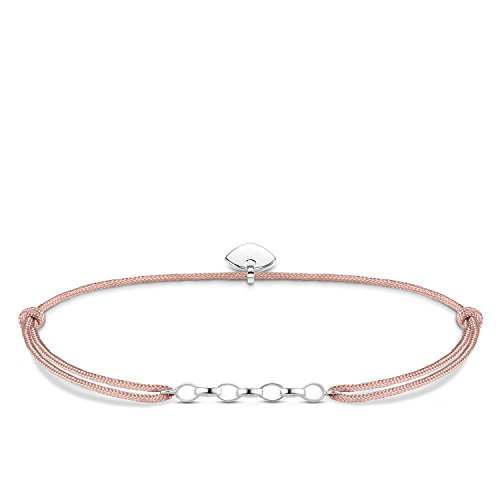 Thomas Sabo Damen-Armband Little Secret  925 Sterling Silber Beige LS048-173-19-L20v
