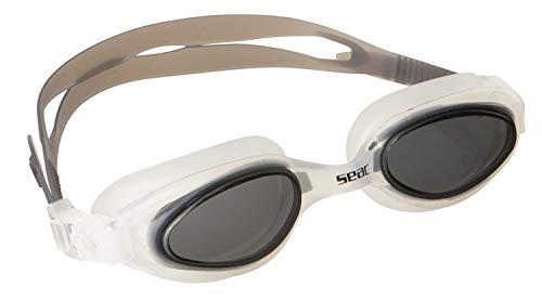 Seac Brille STAR Schwimmbrillen für Pool und Freiwasser für Damen und Herren schwarz one size