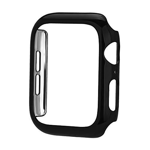 Yallylunn Ultra Thin Pc Plating Cases Protective Bumper Case Cover Edle Textur Bleib Stabil Einstellbar Schweiß for Apple Watch 4 44Mm