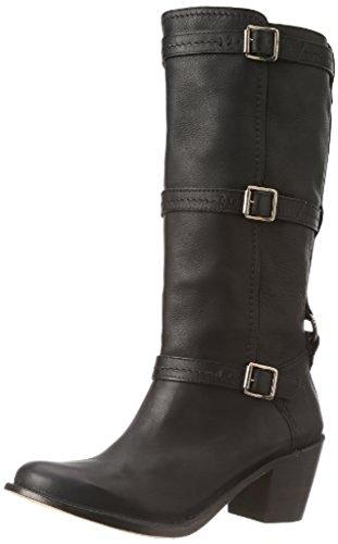 FRYE Womens Carmen 3 Strap Boot Black
