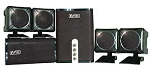 Sweex SP004 5.1 HOME Theater SET Enceintes PC / Stations MP3 RMS 2 W