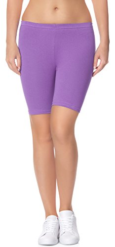 Ladeheid Damen Shorts Long LAMA04 Violett27