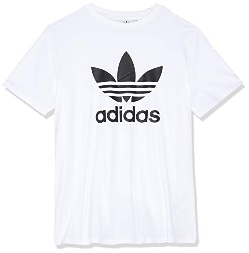 adidas Damen Trefoil T-Shirt White/Black 46