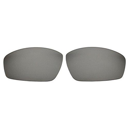 COODY Polarisierte Ersatzgläser für Spy Optic Kash Sonnenbrille, Unisex, Titanium Mirror