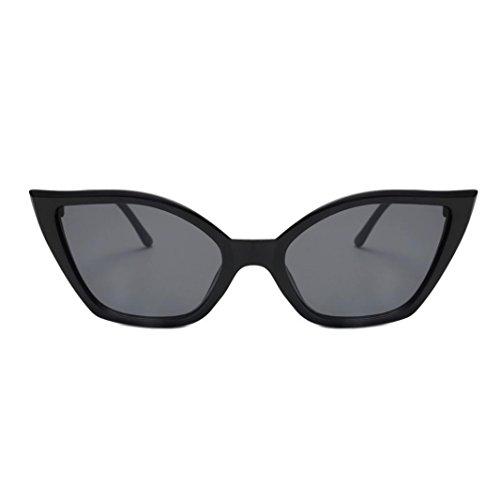 Dragon868 Frauen Sonnenbrille Mode Vintage Cateye Rahmen Shades Acetat Rahmen UV-Brille (F)