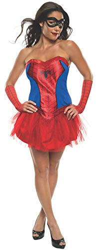 Spider Girl Marvel Kostüm - Rubie 's Offizielles Damen Marvel Spider-Girl Tutu Kleid, Erwachsenen-Kostüm - Medium